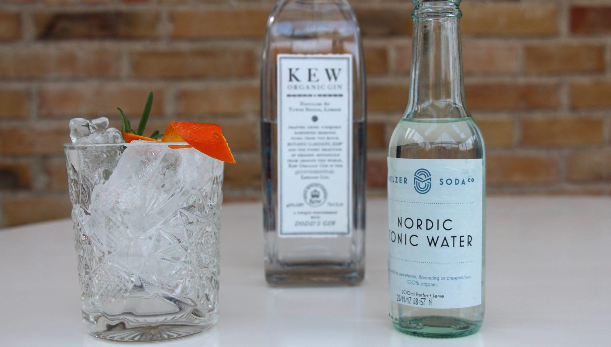 #Fredagsdrink KEW Organic Gin & Tonic