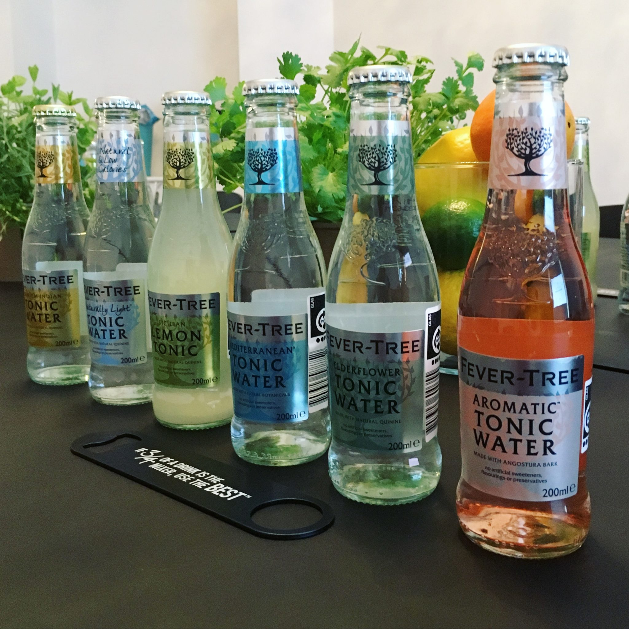 Ny Tonic: Fever-Tree Aromatic Tonic Water