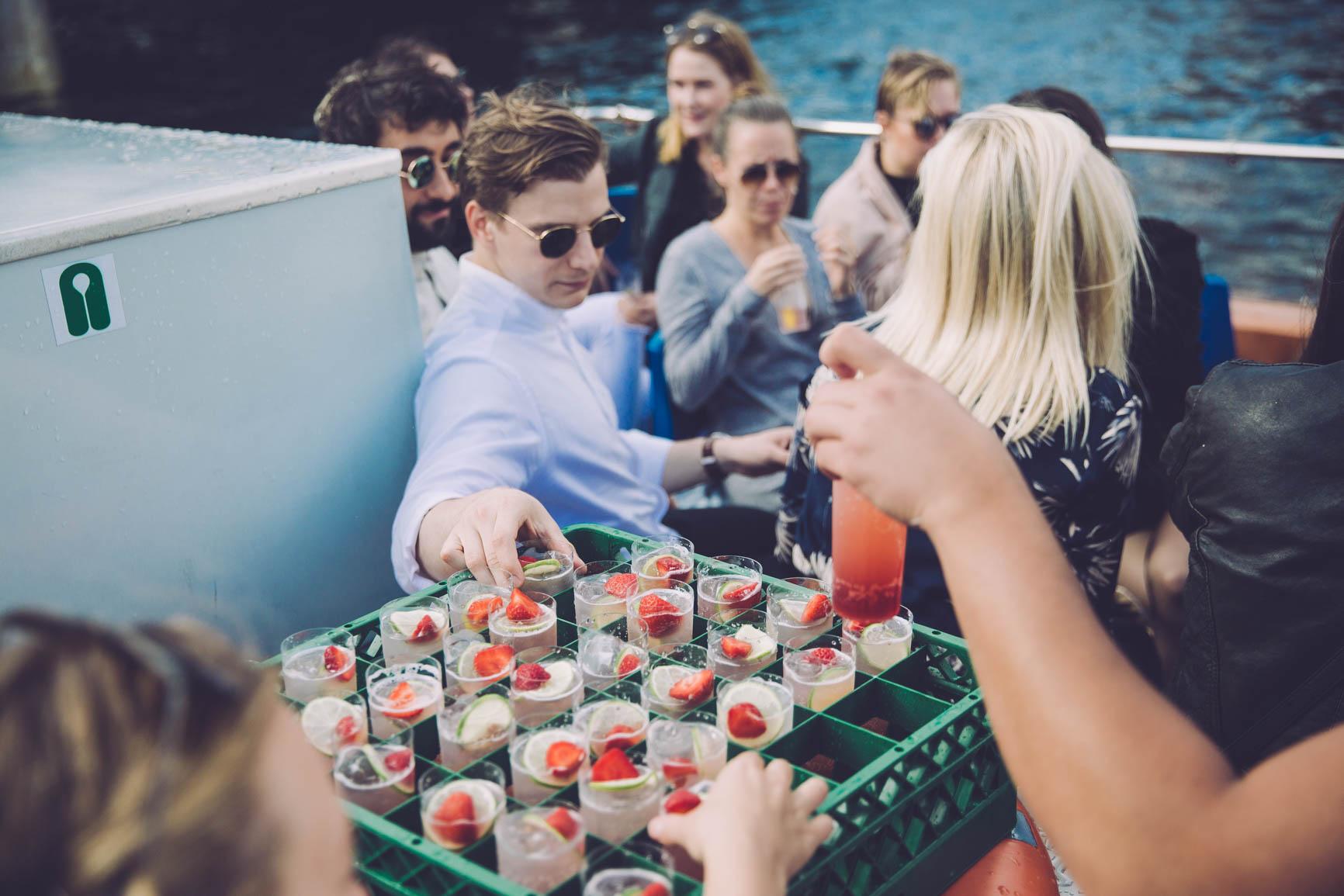 Minder fra Gin & Tonic Cruise juli '17