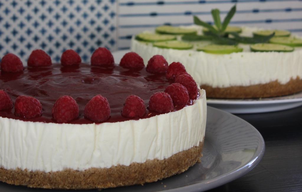 Opskrift: Hjemmelavet Gin & Tonic Cheesecake