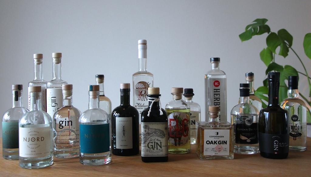 De mange Danske Gin
